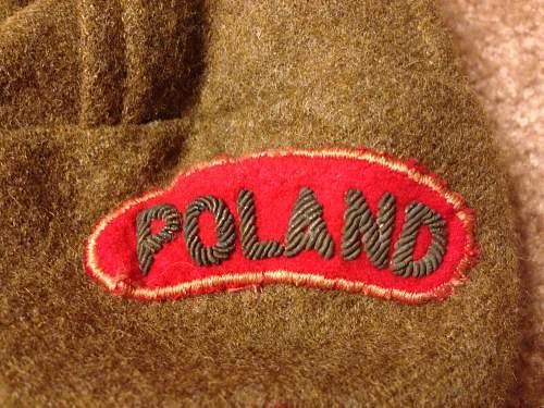 Polish 2nd Corps Battledress