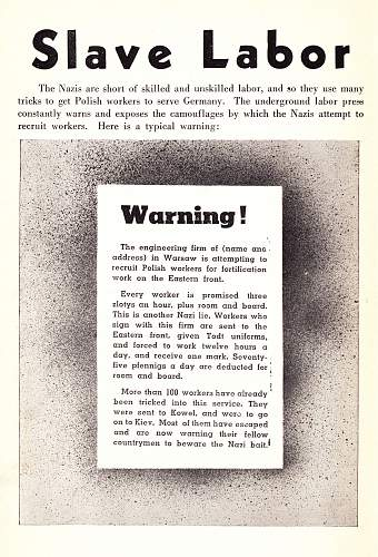 Click image for larger version.  Name:Poland Fights 1943 - Slave Labour.jpg Views:446 Size:241.2 KB ID:594566