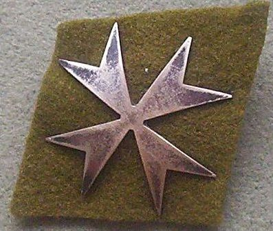 2nd Armoured Div Beret Badge