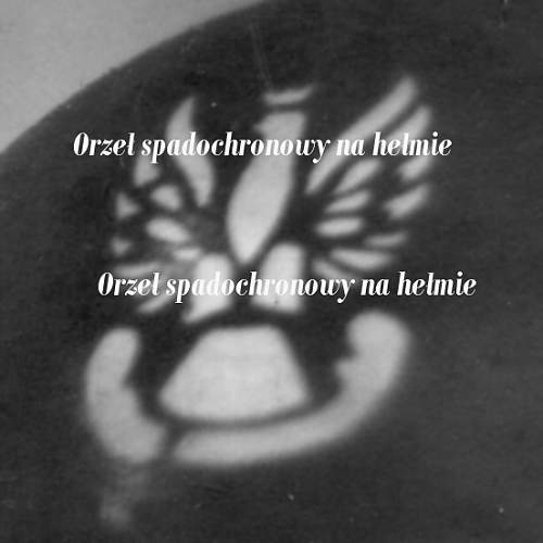 Click image for larger version.  Name:Foto - portret spadochroniarza 1 SBS w hełmie  a.jpg Views:219 Size:119.1 KB ID:60316