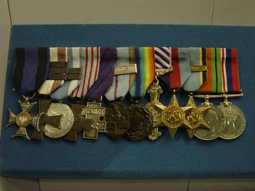 Wing Commander Marian Kucharski's medal: RAF Museum exhibit