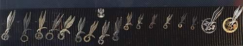 A few 1SBS anniversary items