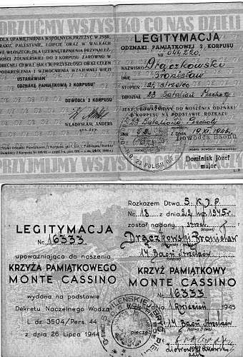Click image for larger version.  Name:Monte Cassino & Italy Star Certs.jpg Views:171 Size:243.1 KB ID:637400