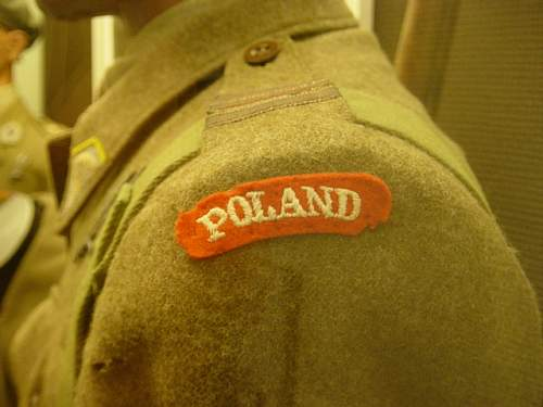 Polish Airborne items from the Hartenstien Airborne Museum