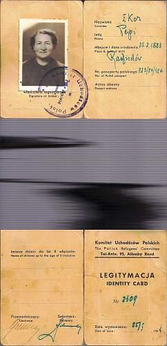 1942 Kuibyshev issued passport...