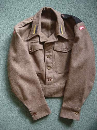 Click image for larger version.  Name:Polish 1st Armoured Div BD Blouse. 001.jpg Views:260 Size:151.6 KB ID:6519