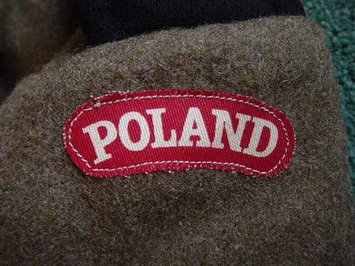 Click image for larger version.  Name:Polish 1st Armoured Div BD Blouse. 003.jpg Views:171 Size:154.5 KB ID:6521