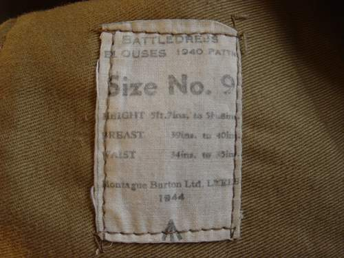 Click image for larger version.  Name:Polish 1st Armoured Div BD Blouse. 008.jpg Views:109 Size:152.7 KB ID:6526