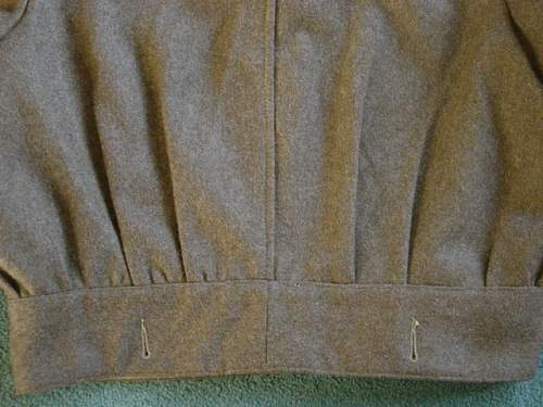 Click image for larger version.  Name:Polish 1st Armoured Div BD Blouse. 009.jpg Views:186 Size:145.6 KB ID:6527
