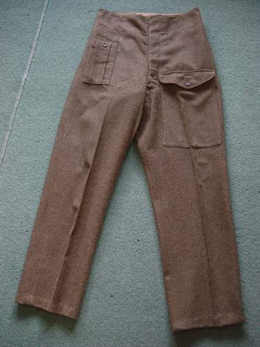 Click image for larger version.  Name:1940 Pattern BD trousers.jpg Views:1534 Size:149.7 KB ID:6565