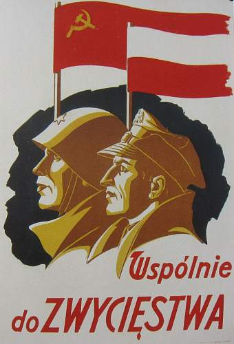 Polish Flag, 1945 dated
