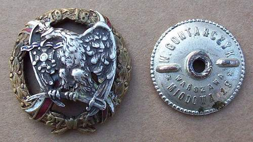 Click image for larger version.  Name:15th Poznan Ulan Regiment obv.jpg Views:269 Size:130.7 KB ID:67637
