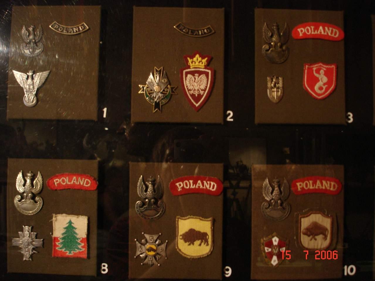 Polish Ww2 Badges
