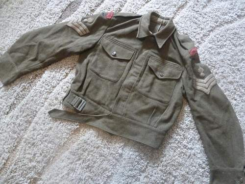 Uniform Questions: Ex-Wehrmacht Polish 2nd Corps Soldier