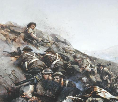 Name:  Painting of the Battle for Monte Cassino Abbey.jpg Views: 2217 Size:  38.5 KB