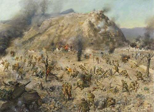 Click image for larger version.  Name:The Battle for Cassino and Monte Cassino.jpg Views:3910 Size:90.0 KB ID:690622