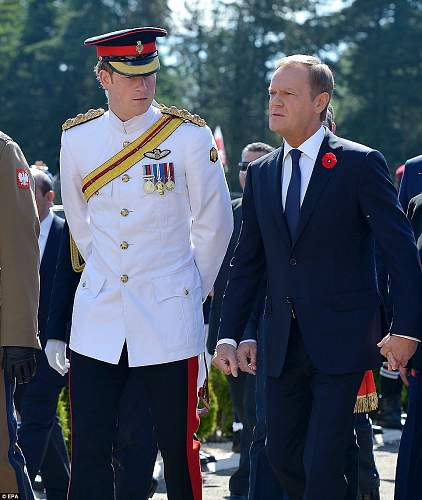 Click image for larger version.  Name:Prince Harry and Prime Minister Tusk.jpg Views:121 Size:101.1 KB ID:691086