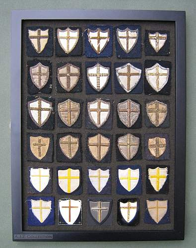 Click image for larger version.  Name:8th Army Shields.jpg Views:144 Size:228.8 KB ID:691609