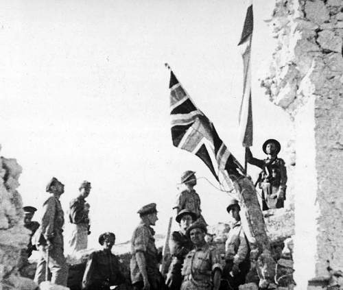 Click image for larger version.  Name:British and Polish flags above Monte Cassino.jpg Views:228 Size:105.5 KB ID:692573