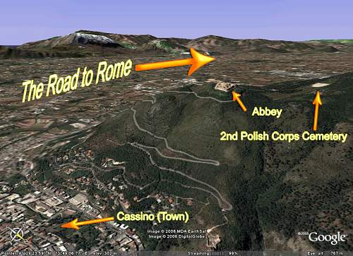 Click image for larger version.  Name:Monte-Cassino Google Earth.jpg Views:91 Size:148.1 KB ID:692880
