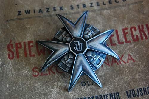 Polish exile regimental badge