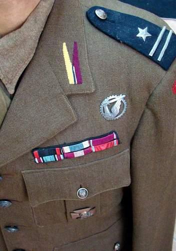 1st Ind. Heavy Machine Gun SQ. Service Dress