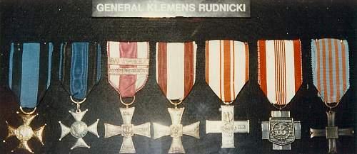 Click image for larger version.  Name:General Klemens Rudnicki awards.jpg Views:98 Size:98.1 KB ID:701158