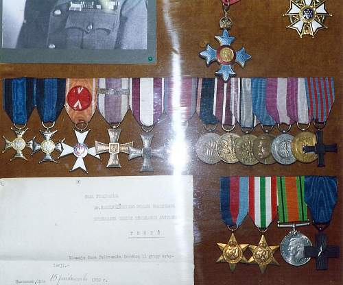 Click image for larger version.  Name:Awards given to General Dr Roman Odzierzynski.jpg Views:79 Size:176.7 KB ID:701159
