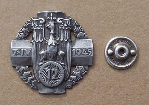 Click image for larger version.  Name:12th Heavy Artillery Regiment - 12 Pulk Artylerii Ciezkiej 2 Grupy Artylerii PSZnZ.jpg Views:221 Size:92.1 KB ID:70219