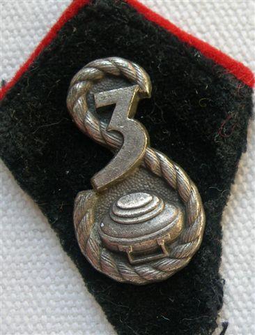 """3rd DSK sappers pennants """"Patki"""""""