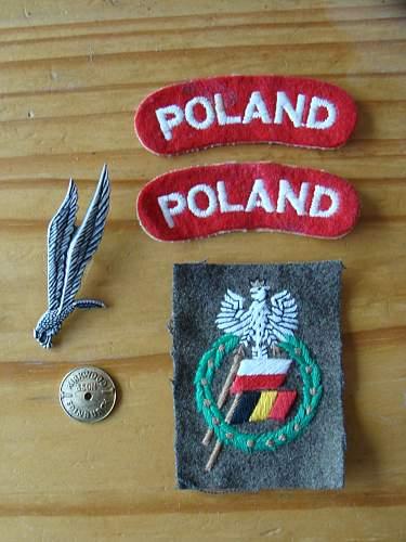 Click image for larger version.  Name:WW2 Polish Airborne Beret para polonais + insignes 5.jpg Views:144 Size:237.7 KB ID:70726