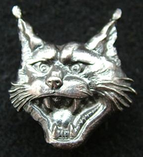 13th Lynx Battalion hat badge