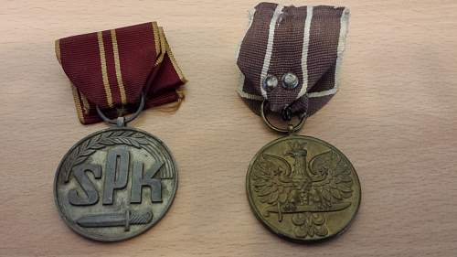 Click image for larger version.  Name:Polish Medals.jpg Views:386 Size:326.5 KB ID:757417