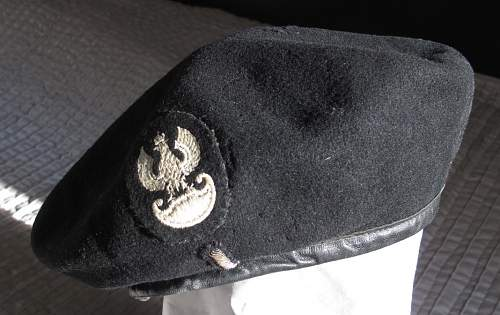 Polish Armoured Corps Beret: Druga Brygada Pancerna?