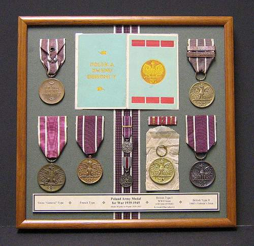 Polish WW2 War Medal
