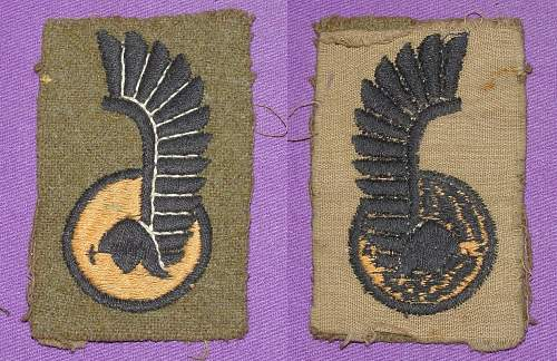 Battle dress first armoured division