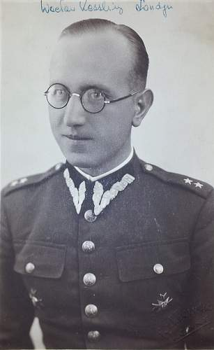 Click image for larger version.  Name:Por lek Waclaw Kessling pre war photo.JPG Views:83 Size:178.8 KB ID:792616