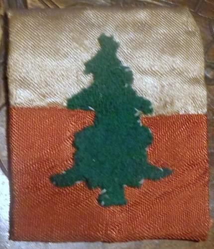 3rd DSK arm badge