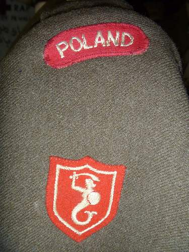 IDed Polish 2nd Corps BD group.
