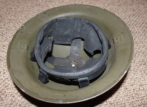 Vet PSZ Mark II Helmet - post-war