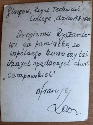 Was My father a Cichociemny ?