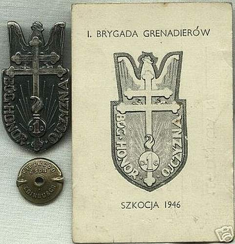 Click image for larger version.  Name:1st Grenadiers' Division with ID card  $220 unsold.jpg Views:85 Size:88.1 KB ID:81936