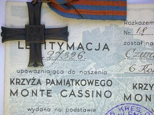 Polish Monte Casino Cross: Real or Fake????