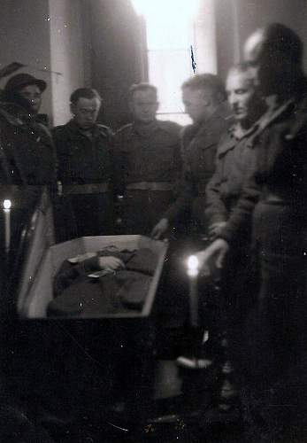 Click image for larger version.  Name:30th January 1946 Sierz Grydziuszko in his coffin.jpg Views:53 Size:108.6 KB ID:838022