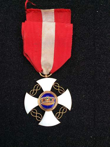 Polish medal?