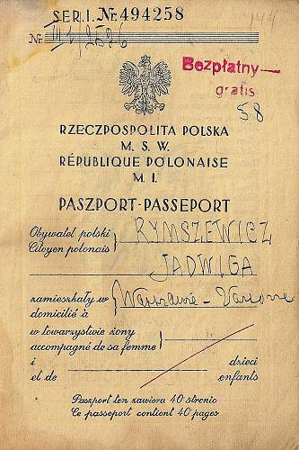 looking for info' on Polish passport issuing clauses