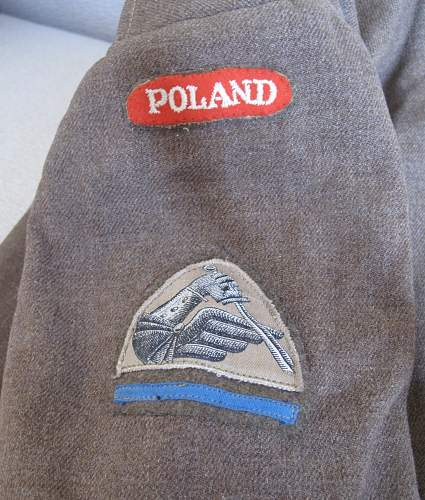 2nd Warsaw Armoured Division, 6th Armoured  Regiment Battle Dress Blouse