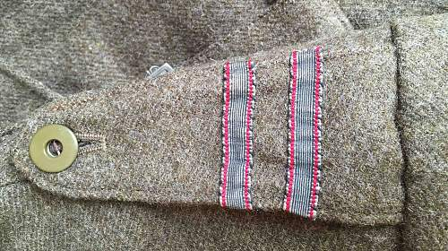 2nd Warsaw Armoured Division battle dress blouse
