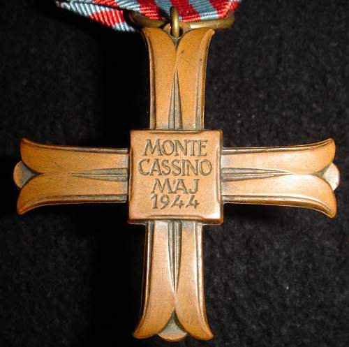 Monte Cassino crosses - ok?
