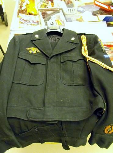 Guard's Civilian Training Centre uniform
